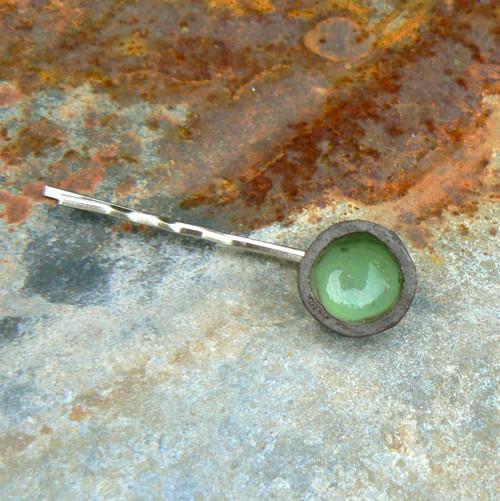 Sponka hliněnka - zelená
