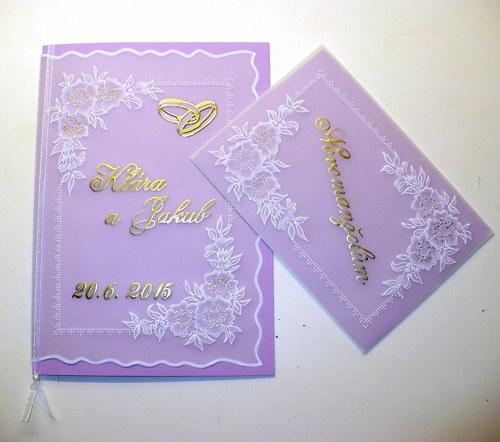 210. Svatební set - blahopřání a darovací obálka