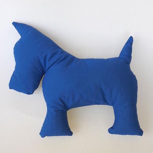 Polštářek - pejsek, modrý
