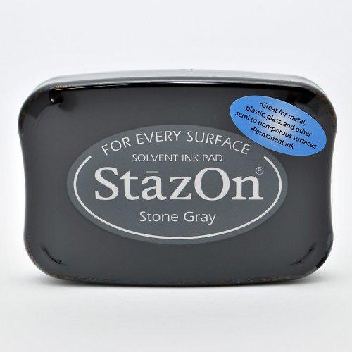 StazOn inkoustový polštářek / šedivý