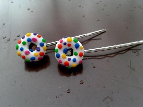 Sponky - Lentilkové donutky