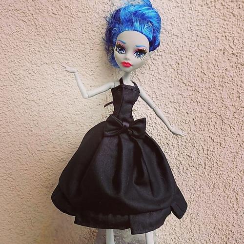 Šaty černočerná roztomilost... pro MH nebo EAH