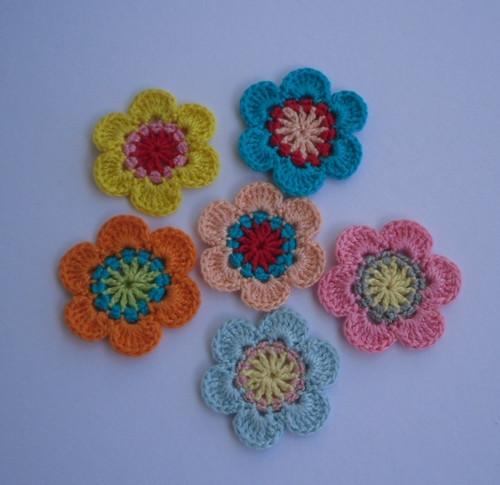 Sada květů barevných