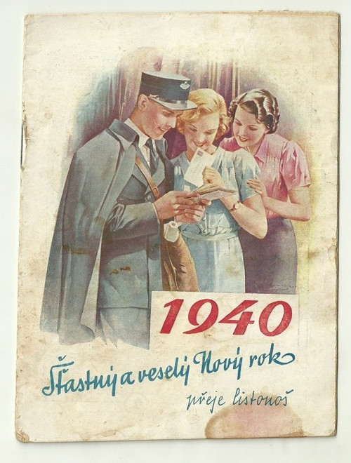 Poštovní knížka 1940