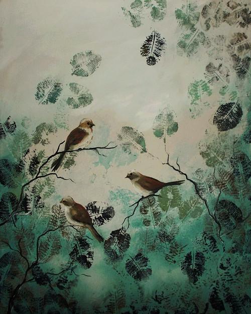 Jarní ráno ptačí