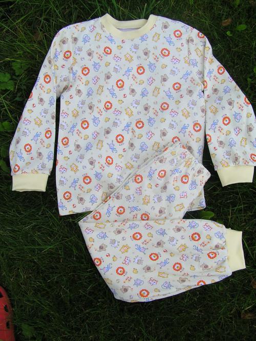 Pyžamo-zvířátka na vanilcev.68-104;110-134;140-158