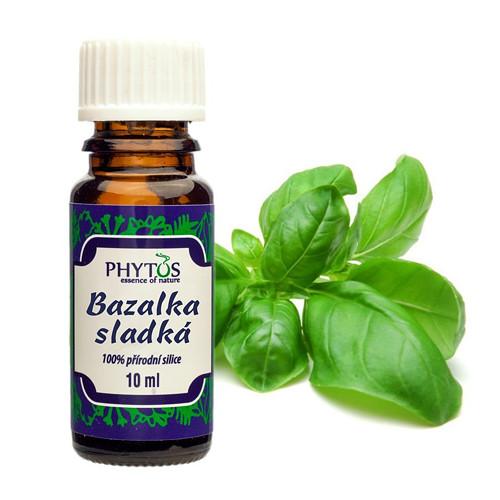 Bazalka sladká - 100% esenciální olej 10ml