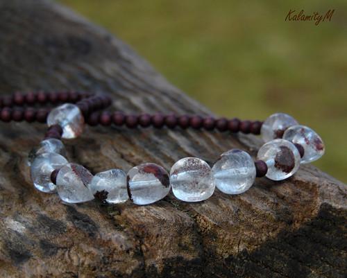 Cristal - náhrdelník z křišťálových valounků
