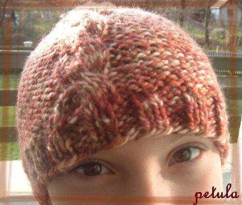 melírovaná čepice