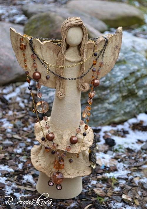 Anděl na šperky
