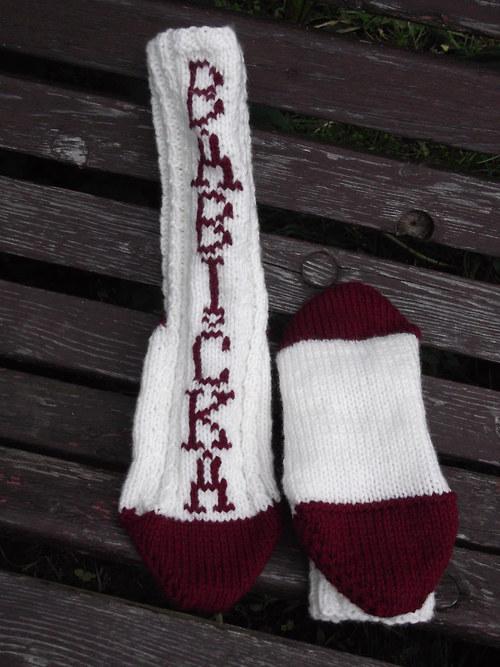 Ponožky pro babičku na Vaše přání