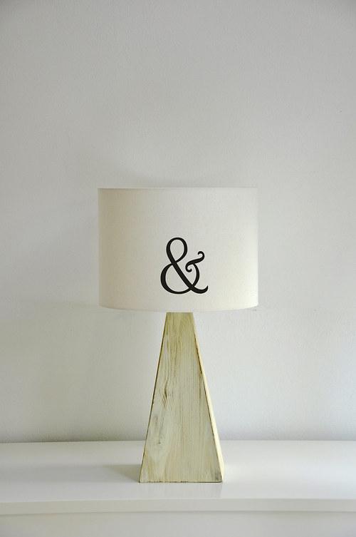Stínítko na lampu Ampersand - stolní/stropní