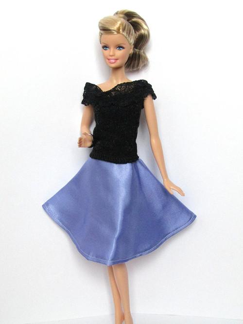 Lila sukně Violeta