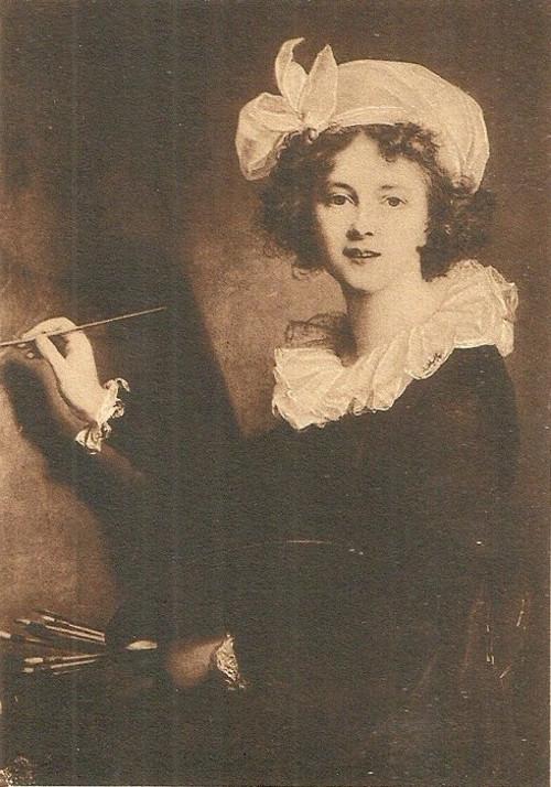 Umělecká pohlednice E.L. La Vigée