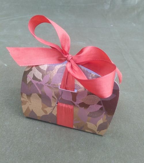skládací krabičky LENKA - květy - lístečky 5 ks