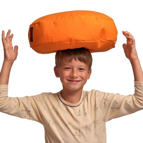 Meditační polštářek - oranžový