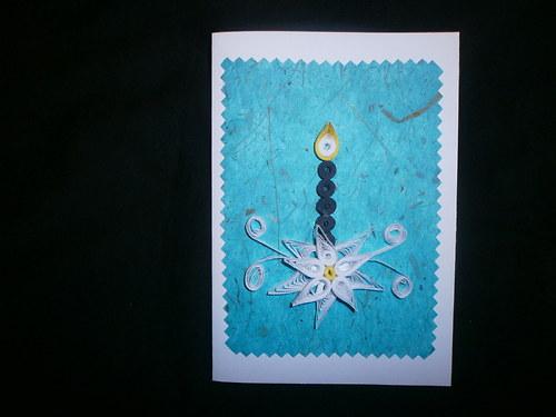 Vánoční přání-svíce1