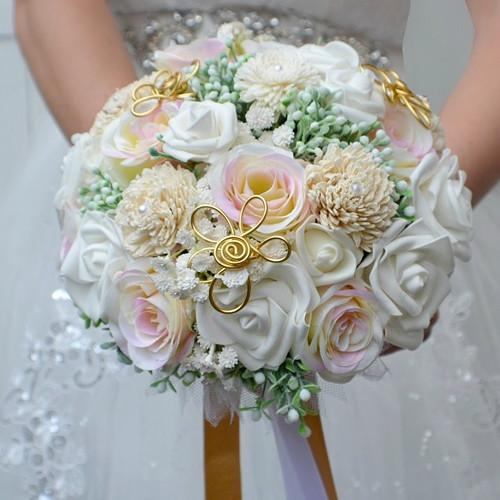 Svatební kytice Cathrinna a korsáž