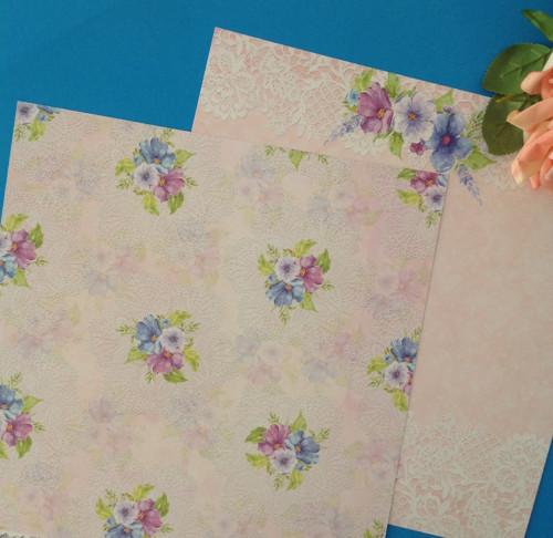 Oboustranný papír 30 x 30 cm,200 g/m2