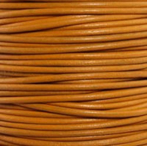 kulatá kůže oranžová 1 mm