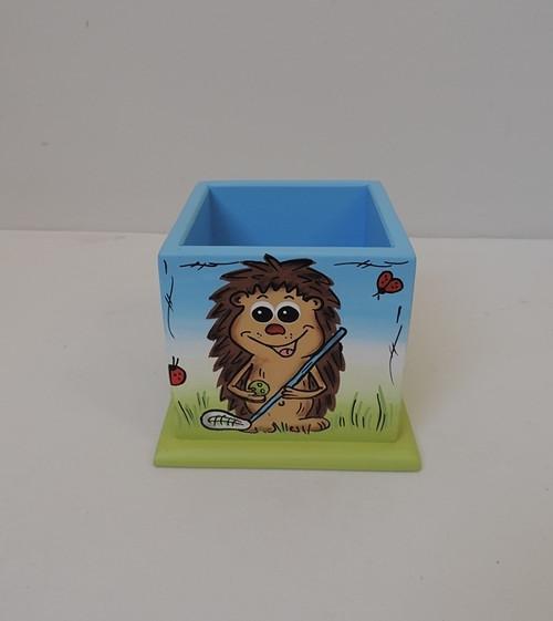Tužkovník-stojan na tužky-ježek