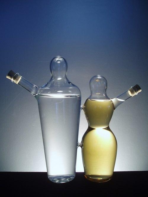 láhev na 2 druhy alkoholu - PÁR