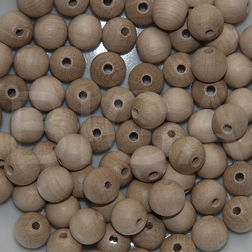 dřevěné korálky 12mm