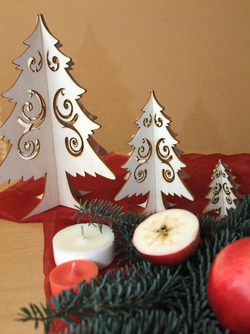Vánoční strom, stromeček - FILIGRÁN set