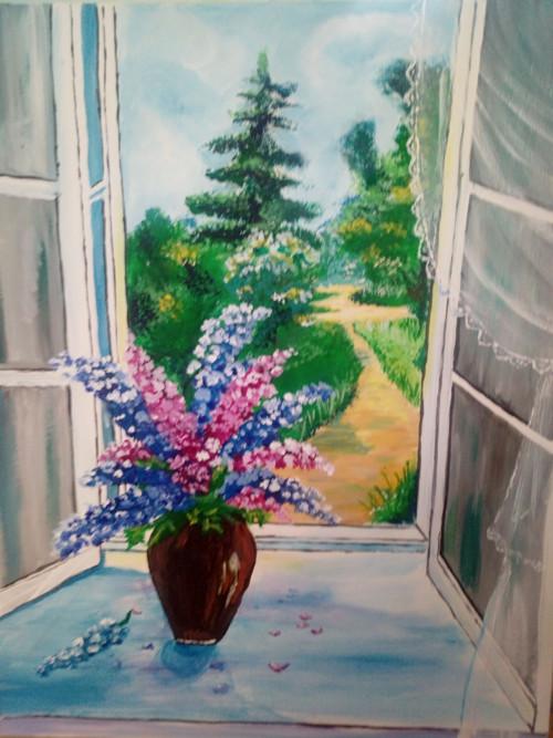 Krása za oknem