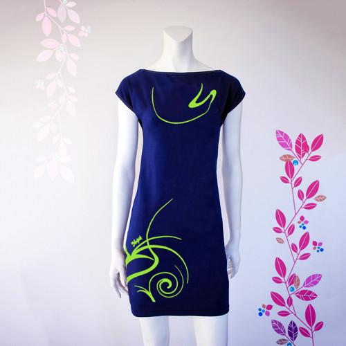 Smart Dress NAVY LINE letní - zelená