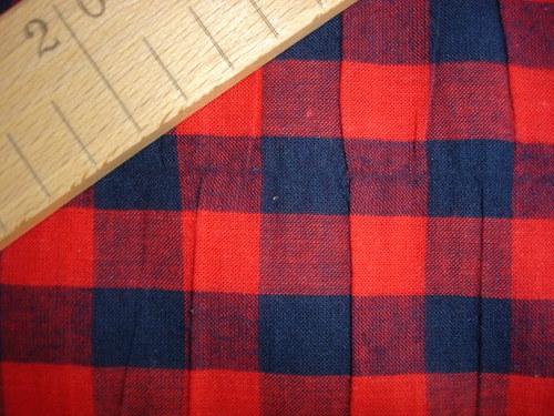 kostkovaná  bavlna,cena za 0,85m, šíře 140cm