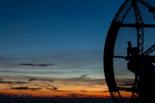 radioteleskop s první hvězdou