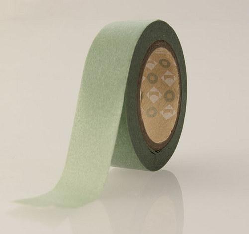 Japonská samolepící páska washi_Světlý bambus