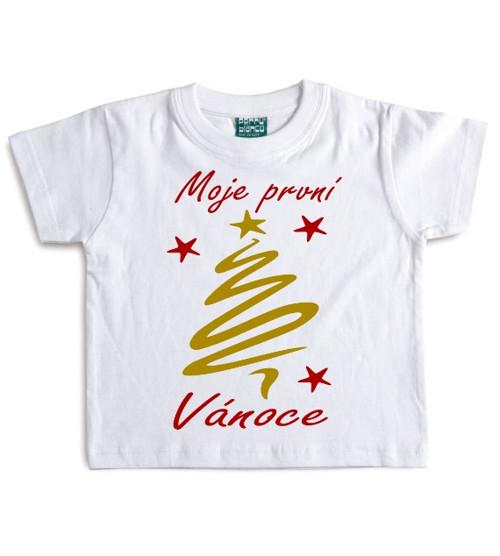 Dětské tričko Moje první Vánoce
