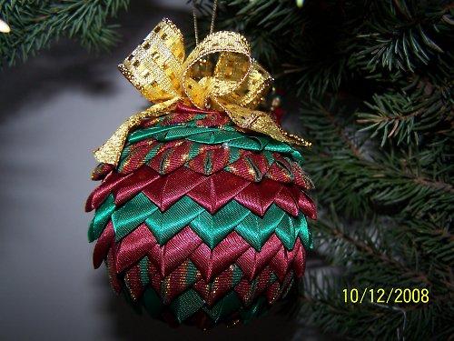 Vánoční ozdoba - koulička