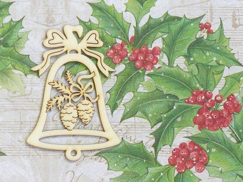 Zvoneček se šiskou 9x6,2cm