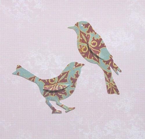 Dva velcí ptáčci