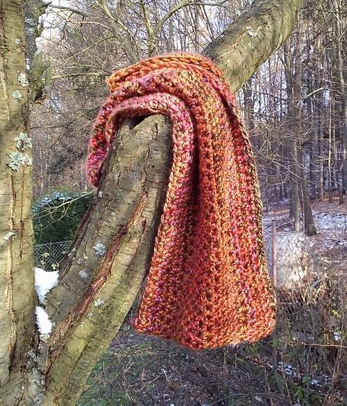 Nákrčník v barvách podzimu