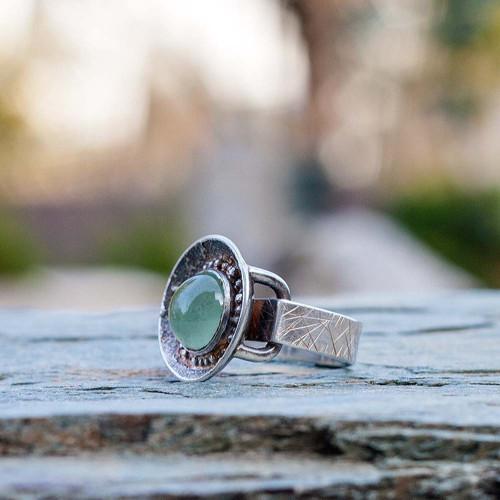 Stříbrný prsten - Misa