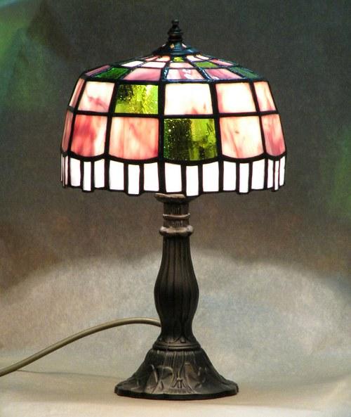 """Tiffany lampa \"""" Jogurtová\"""""""