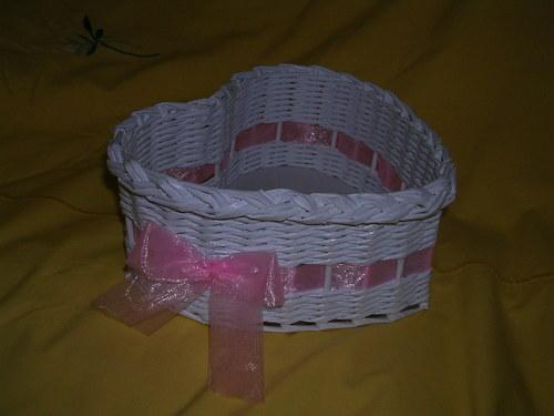 Srdíčko na vývazky - Růžová
