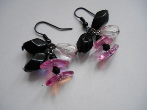 Černo-růžové