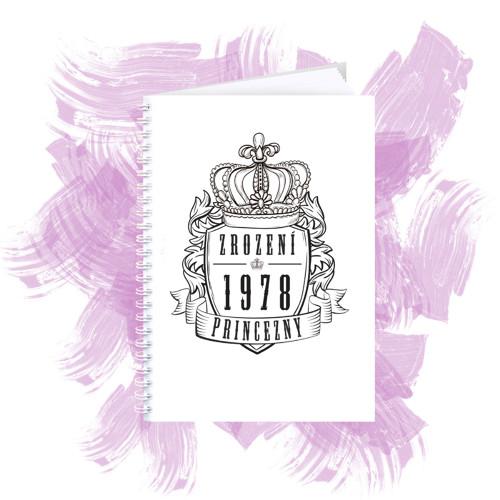 Zápisník s motivem - zrození princezny 5