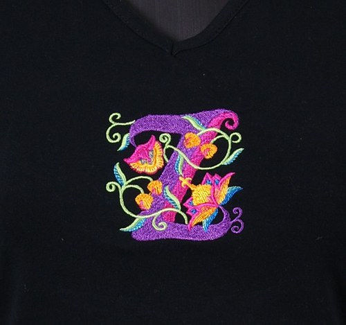 Dámské tričko Dream+ jakobínské písmenko na přání