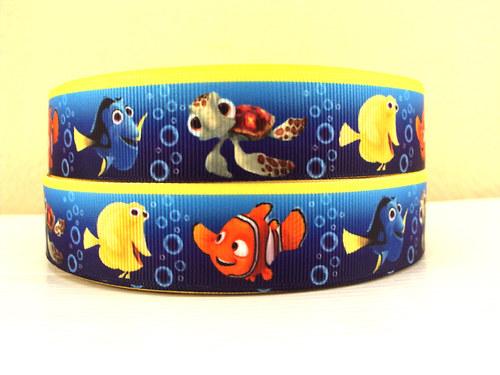 Stuha rypsová š.25 mm: Hledá se Nemo