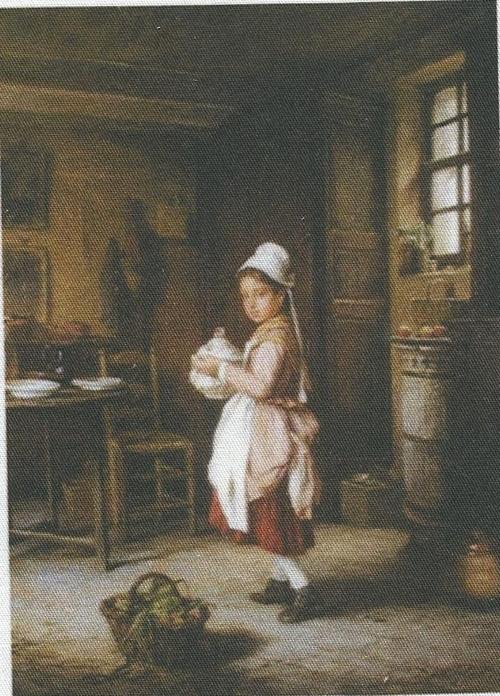 bavlněná látka - panel 9,5 x 13 cm