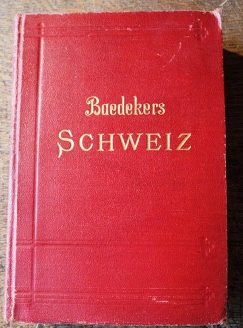 Baedeker - průvodce Švýcarskem /1930/ něm.