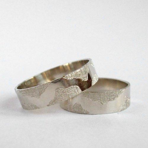 Dva do páru (snubní prsteny; Au 585/1000)