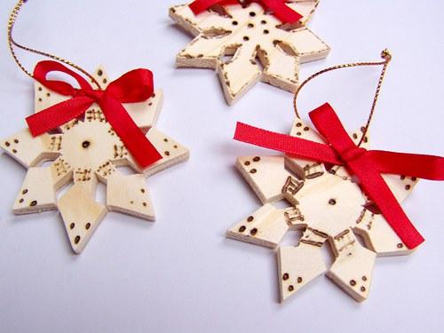 hvězda - vánoční ozdoba