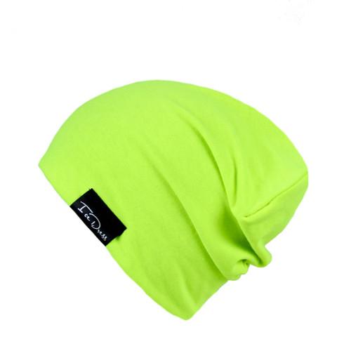 """bavlněná čepka \""""neon green\"""""""